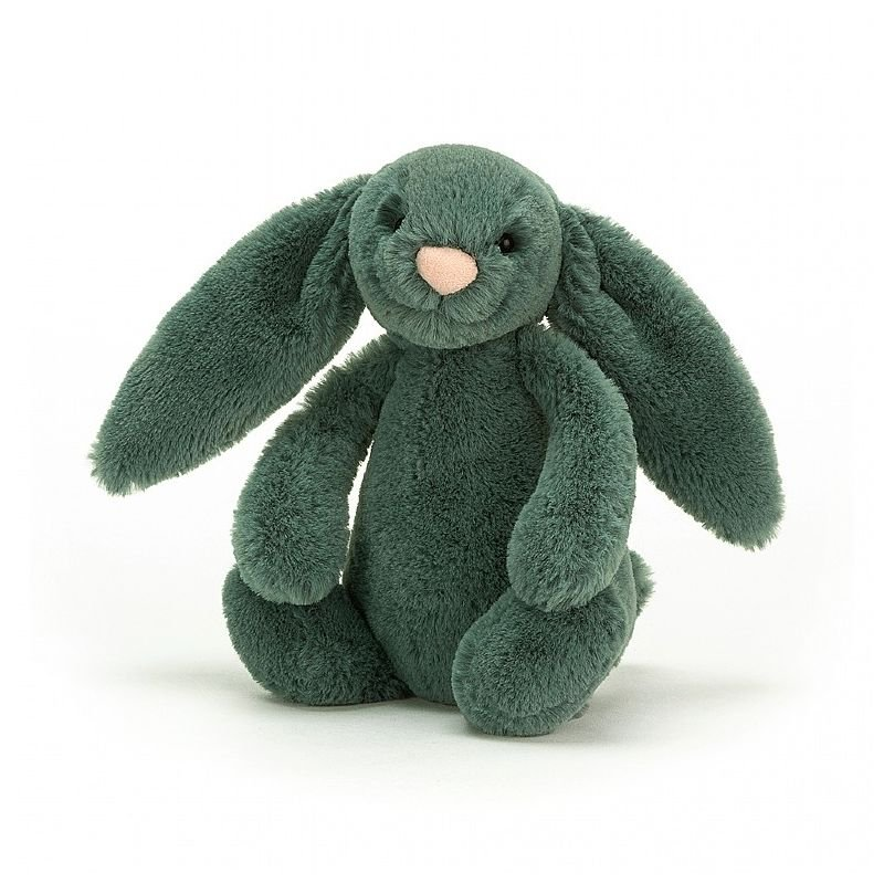 Petit lapin vert Forest 18 cm