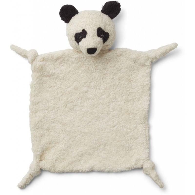 Doudou Panda en tissu bio