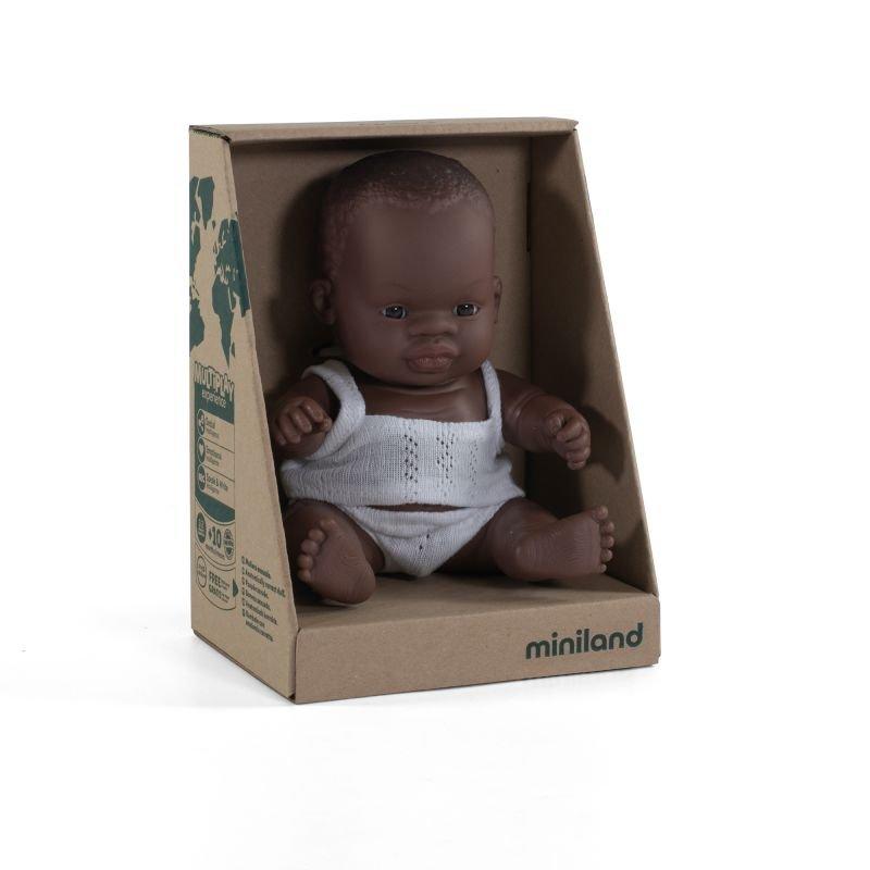 Mini poupée Africaine garçon