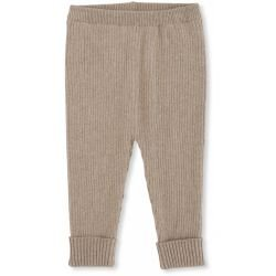Pantalon coton Beige