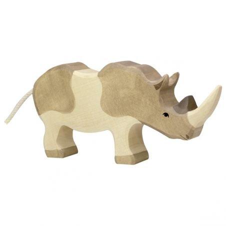 Rhinocéros en bois