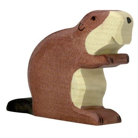 Castor en bois