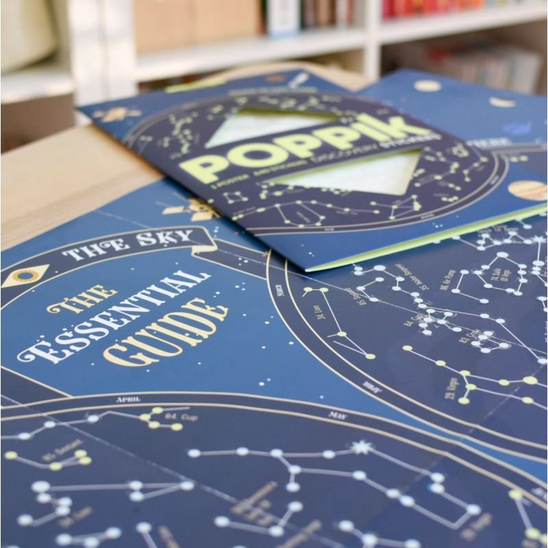Poster Stickers Carte des étoiles