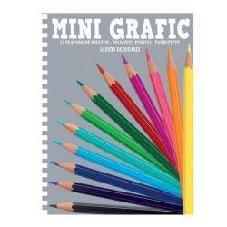 12 crayons de couleur Mini...