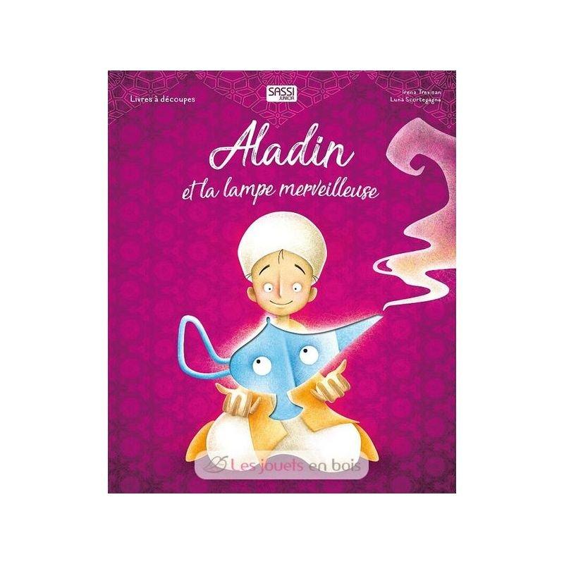 Aladin et la lampe merveilleuse - livres découpés