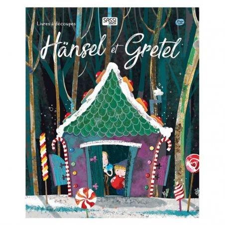 Hansel et Gretel - livres découpés