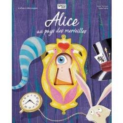 Alice au pays des merveilles - livres découpés