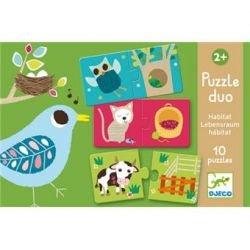 Puzzle duo | Habitat
