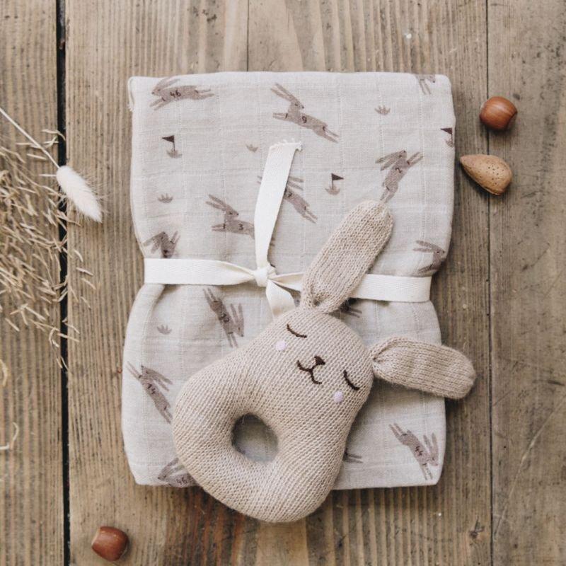 Hochet lapin, sable