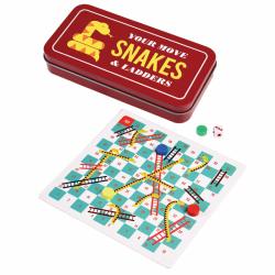 Jeu de voyage serpent