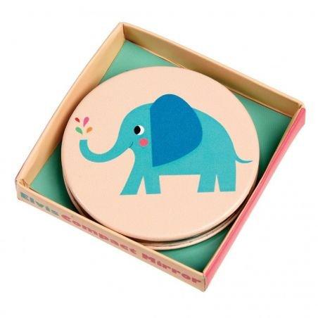Miroir de poche  éléphant