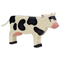 Vache en bois