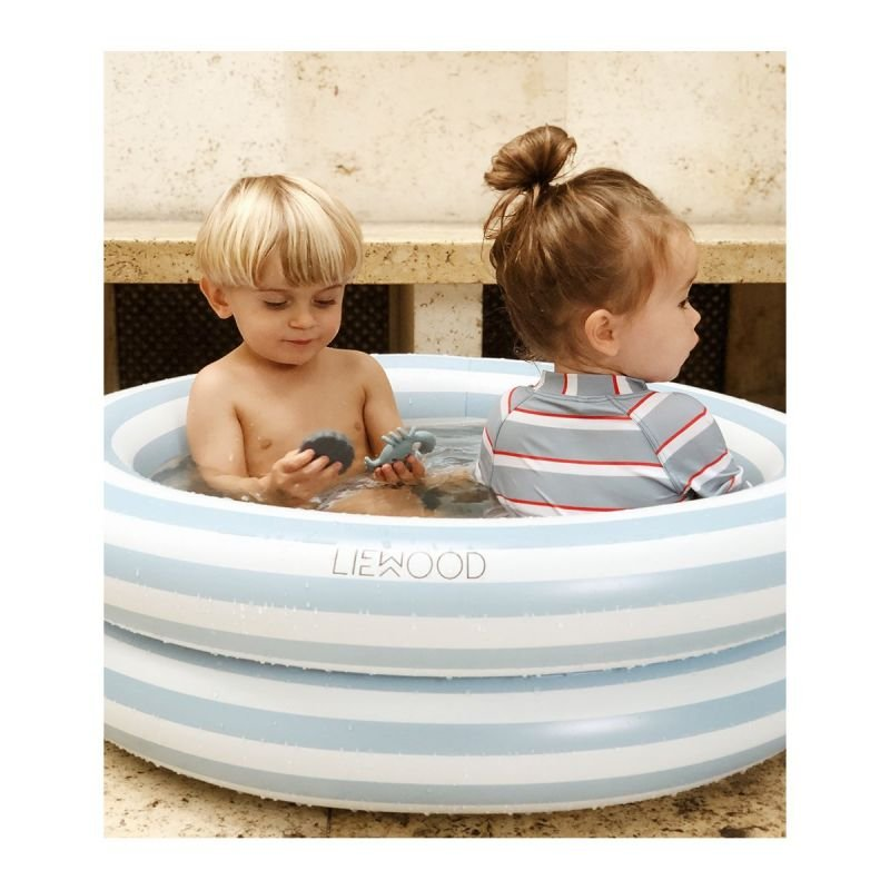 Petite piscine Rayures Jaune