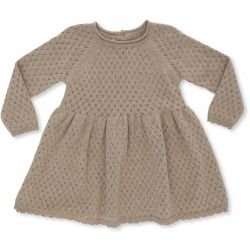 Robe coton | Beige