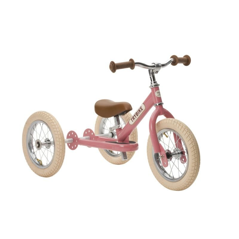 Draisienne-Tricycle Rose