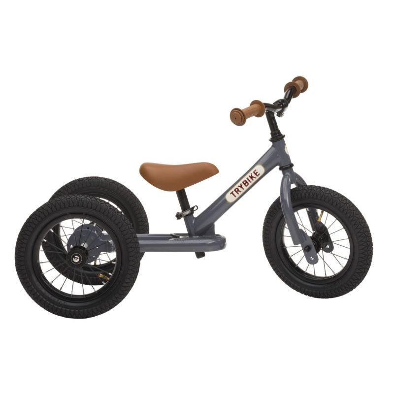 Draisienne-Tricycle Gris