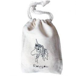 Pochon coton licorne