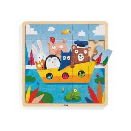 Puzzle Boat