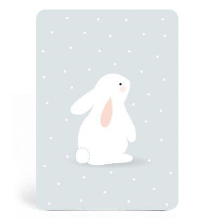 Carte lapin Eugène