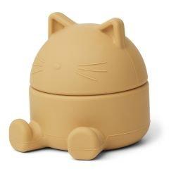 Petite boite à trésors | Chat jaune
