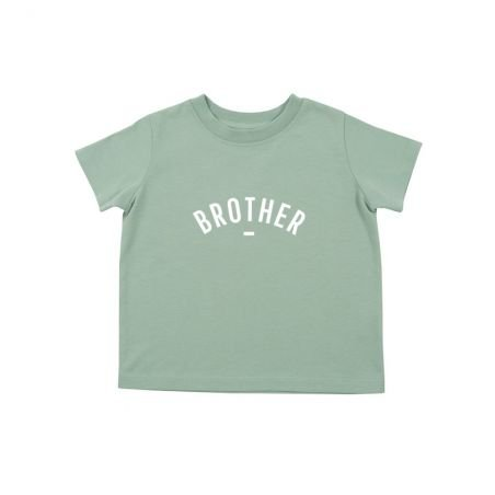 Tshirt brother vert manches courtes