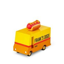 Hot Dog Van en bois