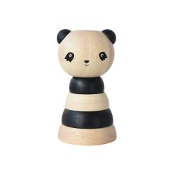 Encastrable en bois Panda