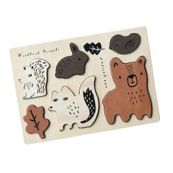 Puzzle en bois  | Animaux de la forêt