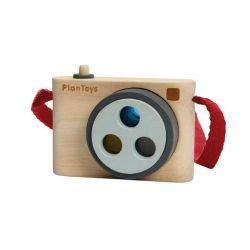 Appareil photo en bois avec filtres