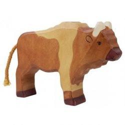 Bison en bois