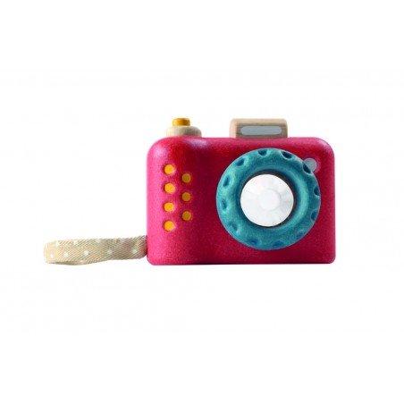 Jouet en bois écologique appareil photo kaléidoscope Plan Toys