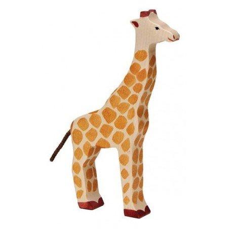 Grande girafe en bois par Holztiger