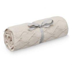 Couverture coton 80 x 100 cm | Sable