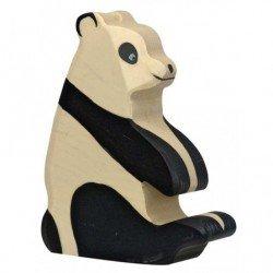 Panda en bois par Holztiger