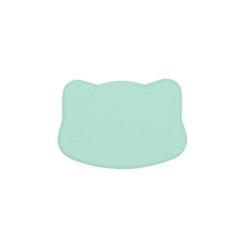 Petite boite à goûter chat Vert d'eau