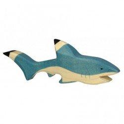 Requin en bois par Holztiger