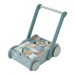 Chariot à blocs   Bleu