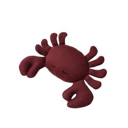 Doudou hochet crabe