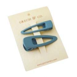 2 barrettes pince | Bleu clair (Light Blue)