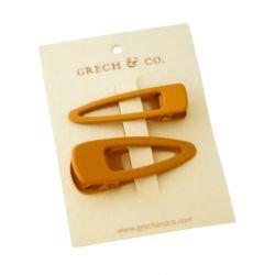 2 barrettes pince | Doré (Golden)