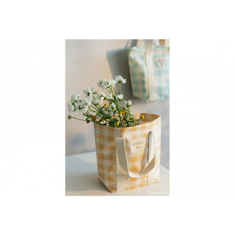 Mini sac à main Sunshine | Melon vichy