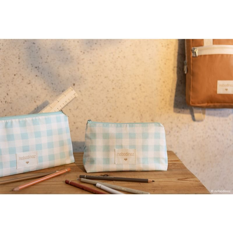 Trousse Sunshine grande taille | Opaline vichy