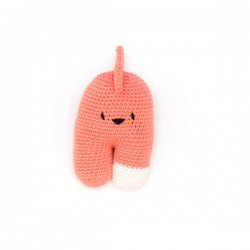 Doudou au crochet Albert Corail par May Be Monday