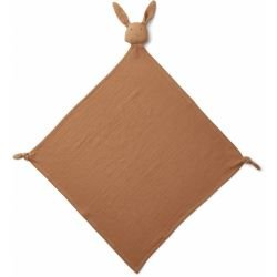 Grand Lange doudou en coton bio | Lapin Terracotta
