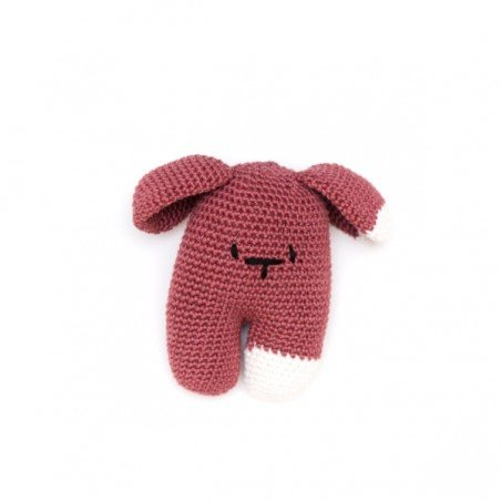 Doudou au crochet Garance Prune par May Be Monday