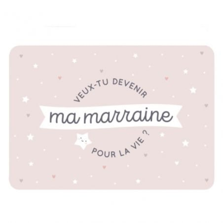 Carte Marraine par Zü