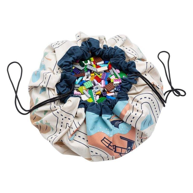 Tapis de jeu et sac de rangement «Carte de L.A » par Play