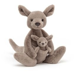 Kangourou en peluche