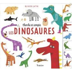 Cherche et compte | Les dinosaures par Tourbillon couverture
