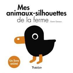 Mes animaux-silhouettes de la ferme par Tourbillon couverture